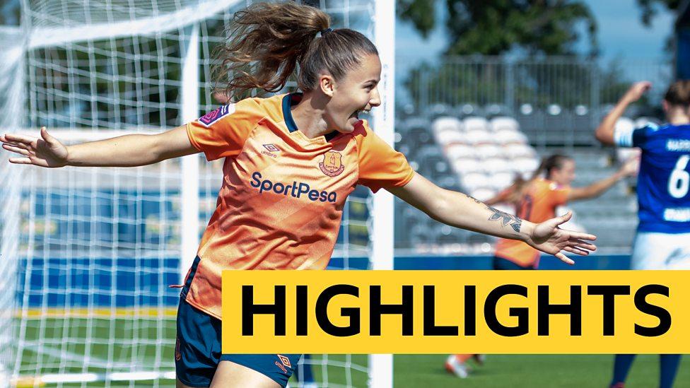 Women's Super League highlights: Birmingham 0-1 Everton