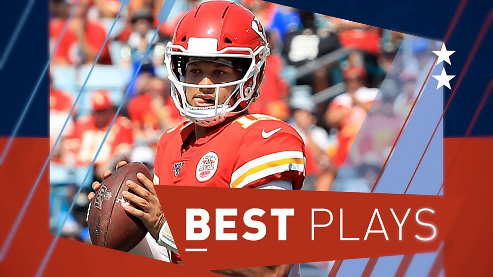 cheaper a41de 6a4af NFL plays of the week: Patrick Mahomes, Tom Brady & Lamar Jackson all make  the cut
