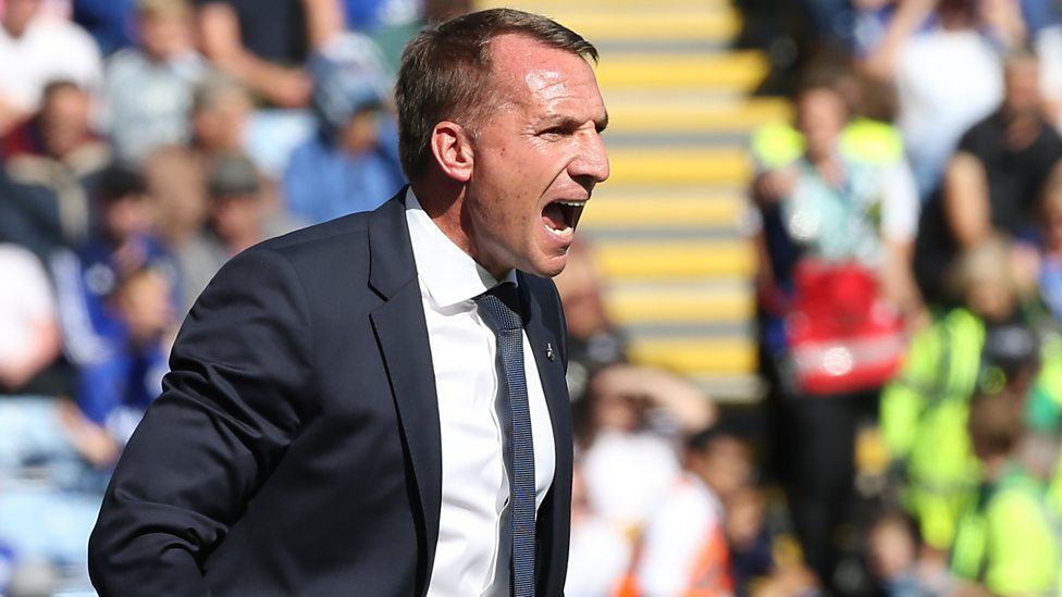Leicester 2-1 Tottenham: Brendan Rodgers praises 'outstanding' Foxes - BBC  Sport