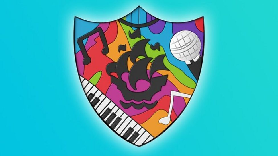 Image result for NEW BLUE PETER BADGE music