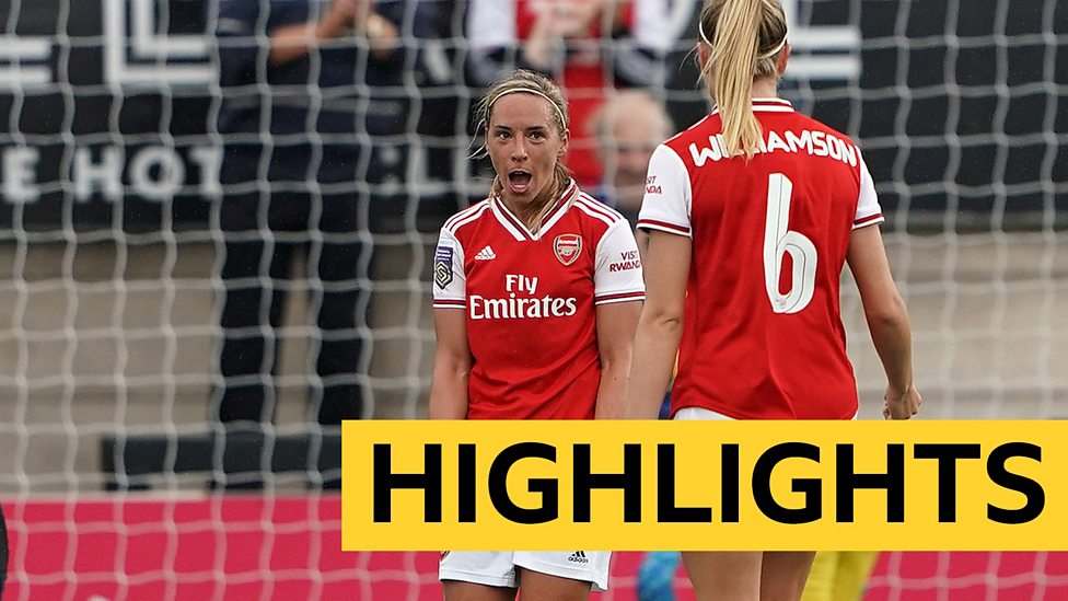 Wsl Highlights Arsenal Women 4 0 Brighton Hove Albion Women