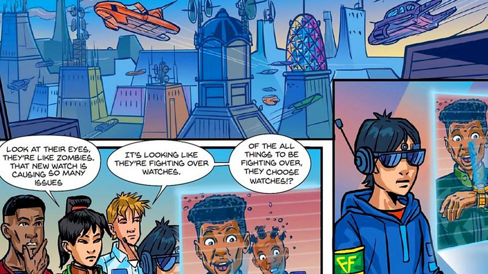 Comic book tackles knife crime