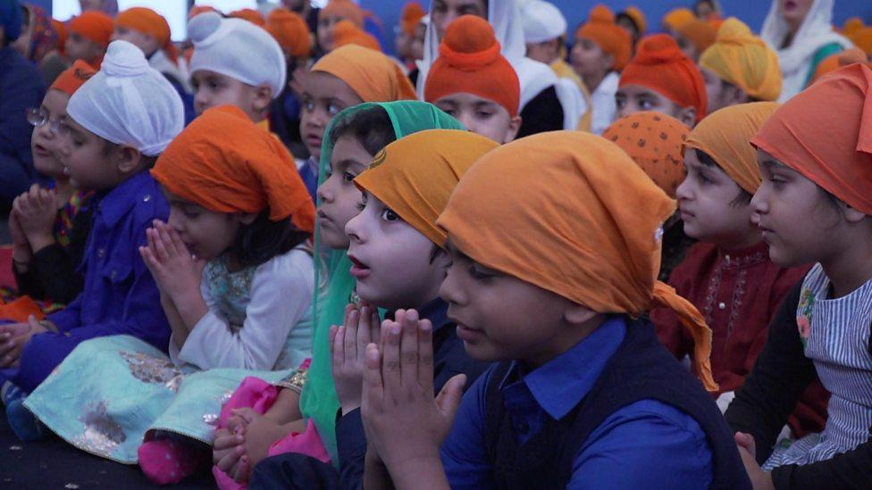 Sikh's celebrate Guru Nanak Dev Ji 550th birthday