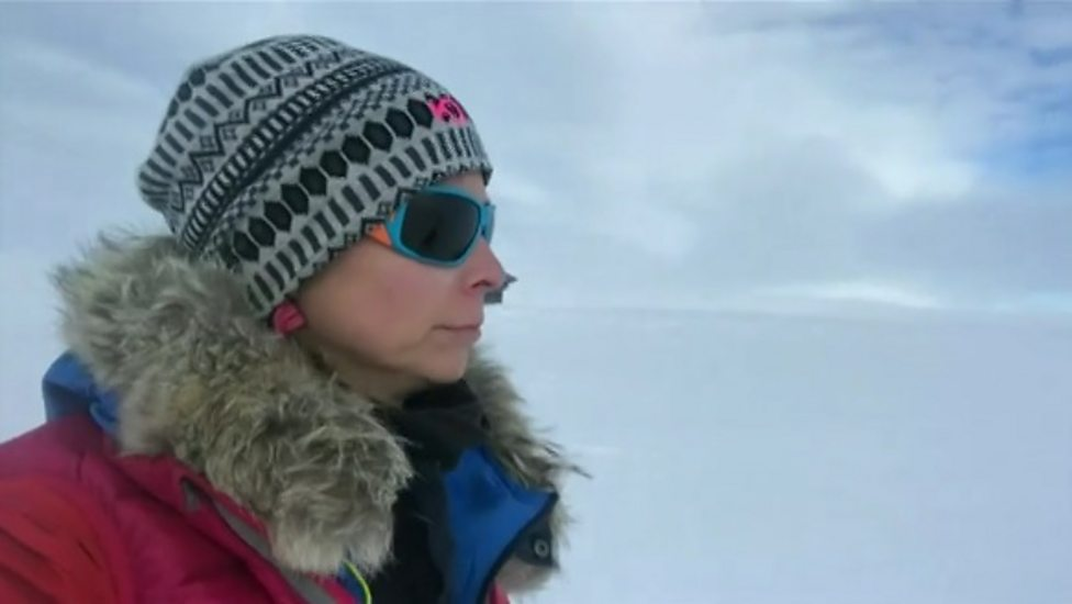 Wendy Searle answers questions about her Arctic adventure
