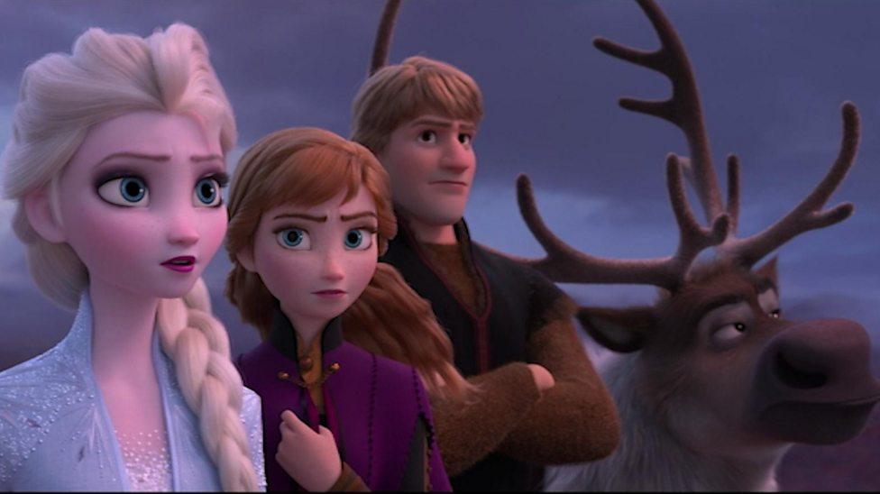 Frozen 2 stars talk about new movie