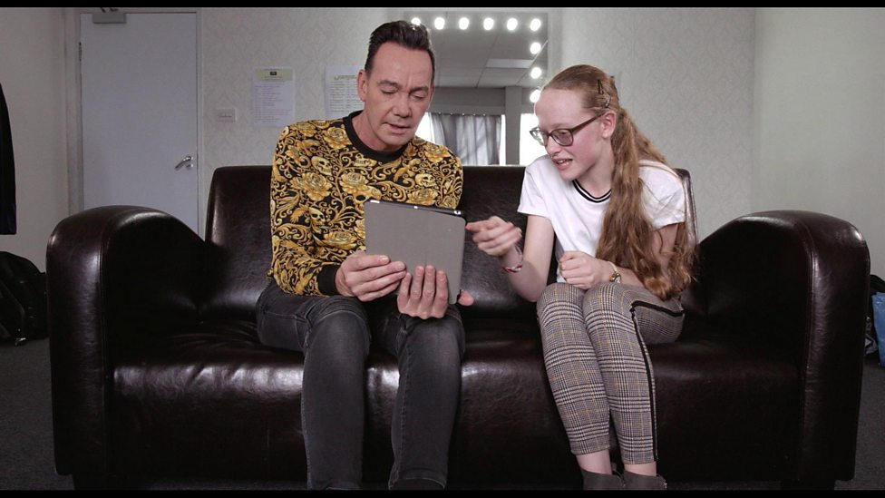 The moment young dancer with sight loss meets her Strictly hero