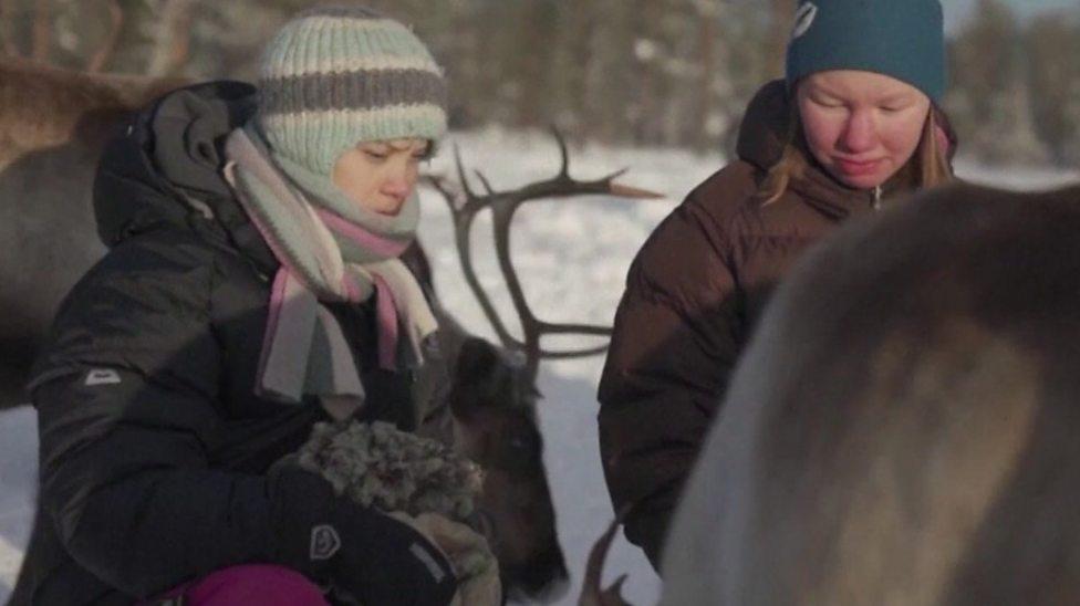 When Greta met the reindeers