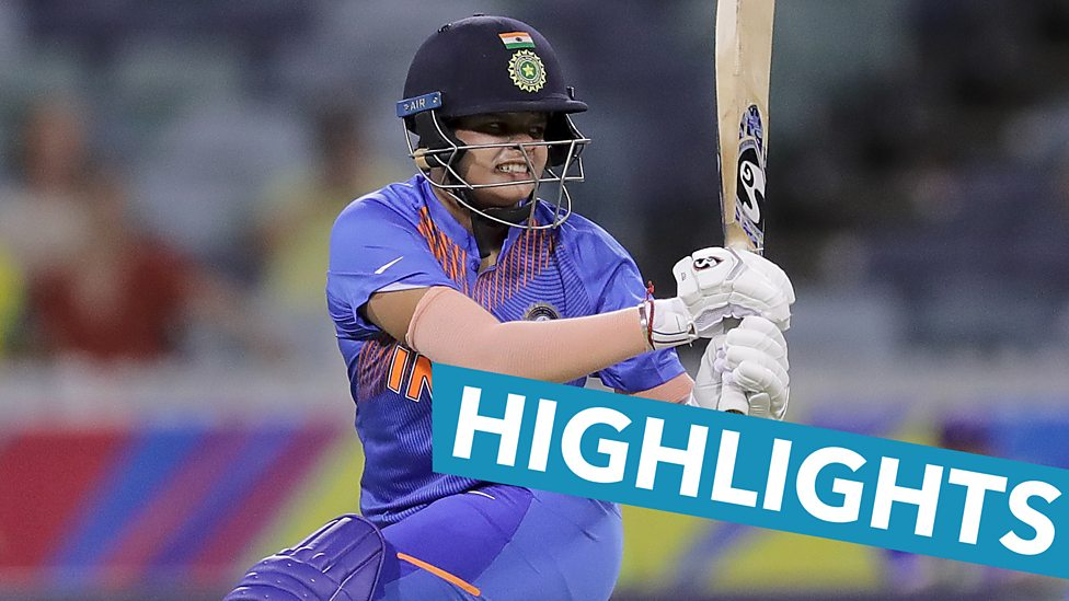 Women S T20 World Cup Highlights Shafali Verma 16 Helps India Beat Bangladesh Bbc Sport