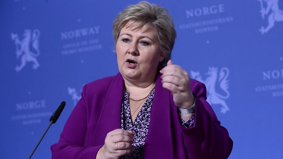 Kids ask Norway's PM: 'Why does coronavirus mean I can't celebrate my birthday?'