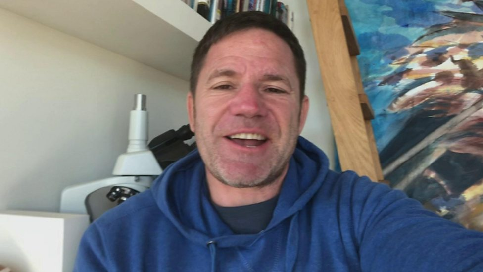 Steve Backshall gets ready to answer your wildlife questions this morning!