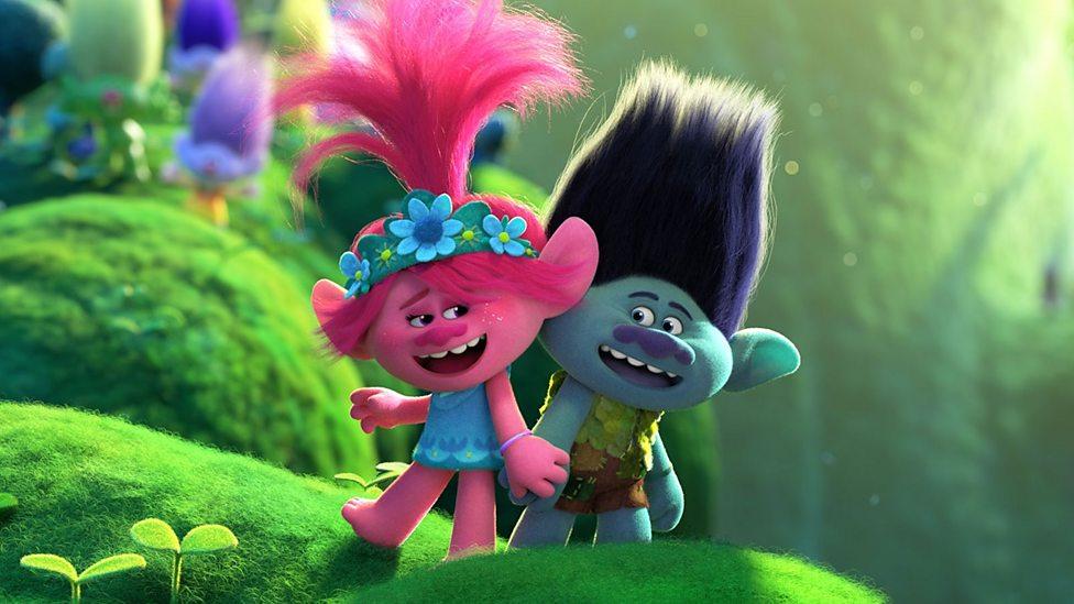 We meet the stars of the new Trolls film