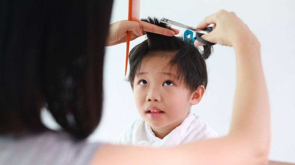 Send us your pictures: Have your parents cut your hair?