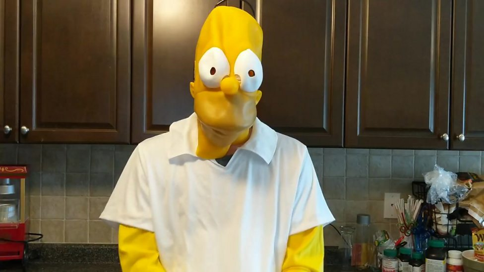 Check out this family's hilarious Simpsons video