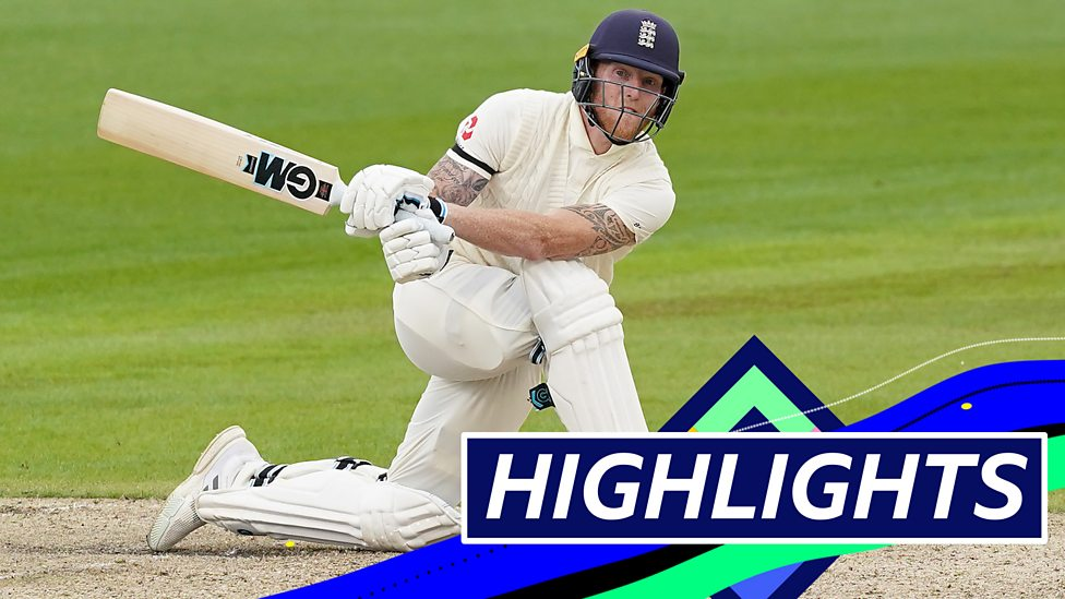 England V West Indies Highlights England On Top After Sibley Stokes Fifties Bbc Sport