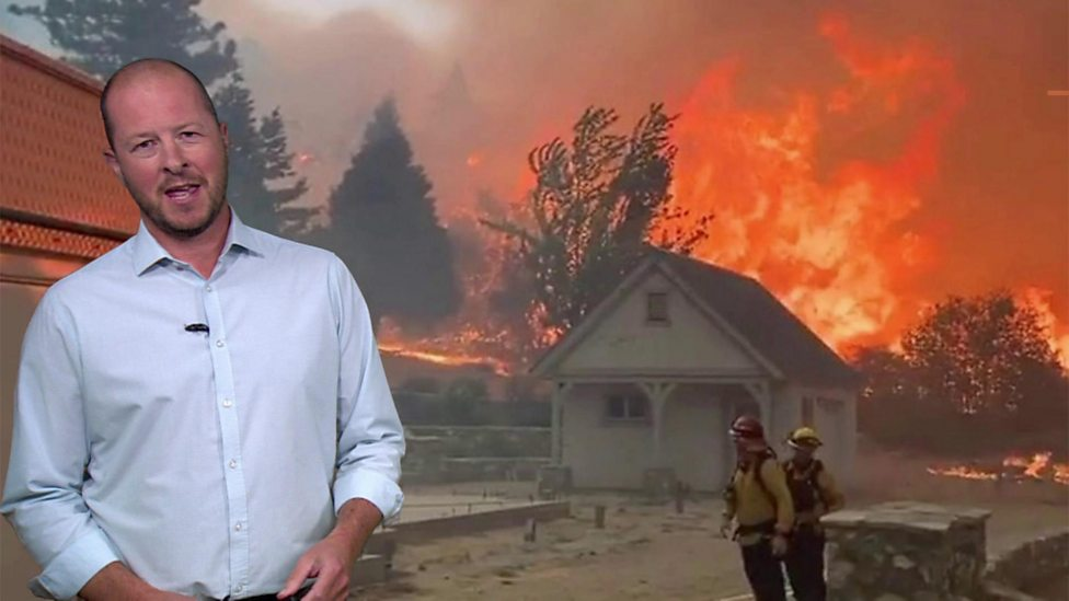 California wildfires: how is the weather affecting things?