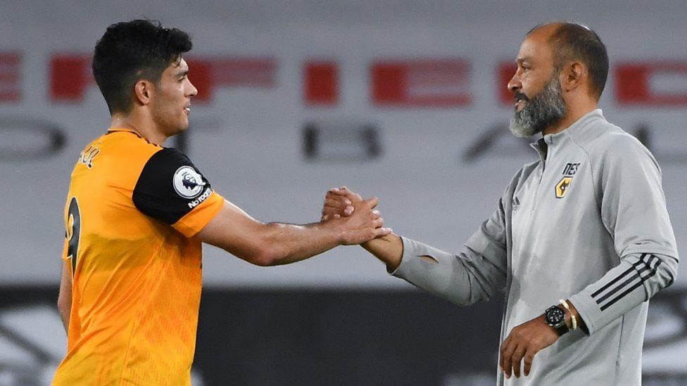 Sheffield United 0-2 Wolves: Nuno Espirito Santo praises Raul Jimenez  talent and work-rate - BBC Sport