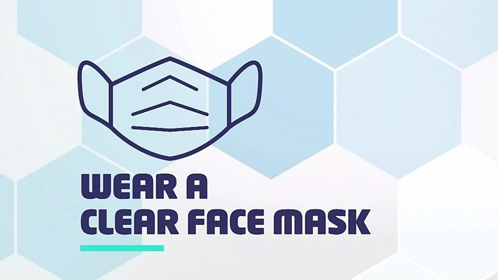 Advice for communicating with deaf people while wearing a face mask