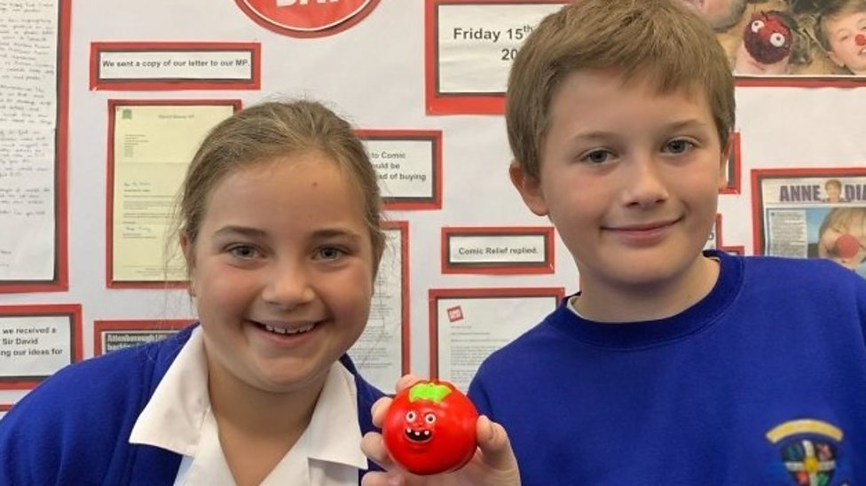 Comic Relief ditch plastic red noses thanks to school campaign