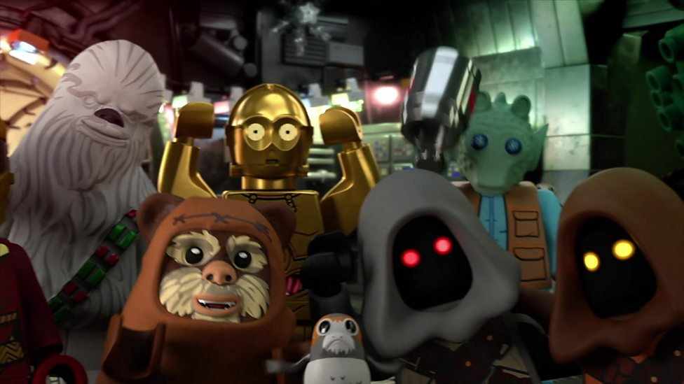 Lego Star Wars Holiday Special and C3PO's besties!
