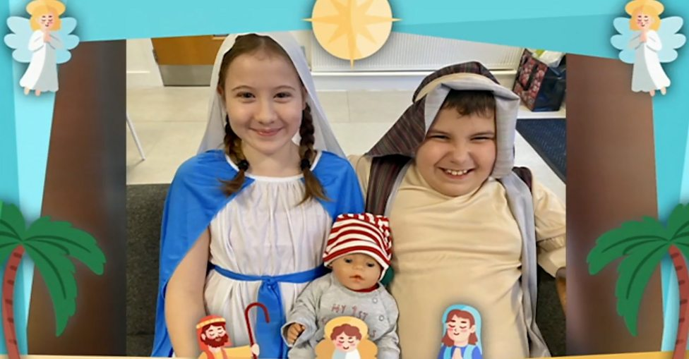 Celebs join school's virtual nativity play