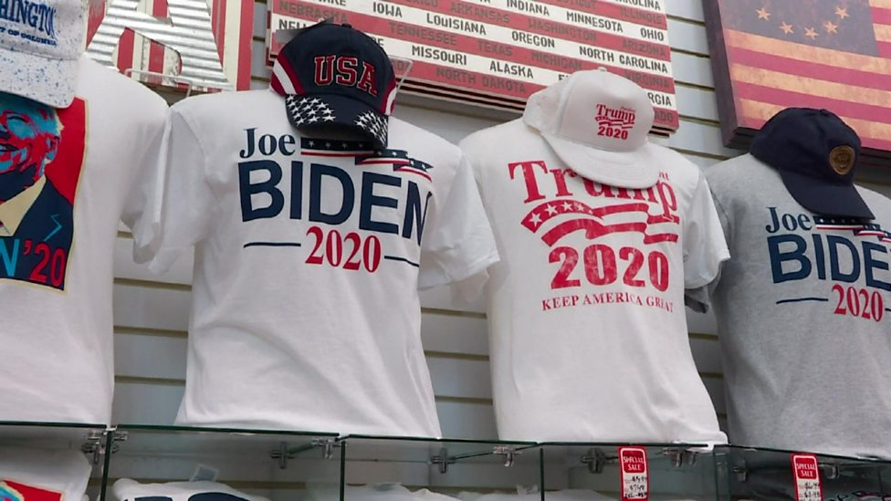 What's it like running a Trump/Biden souvenir shop?