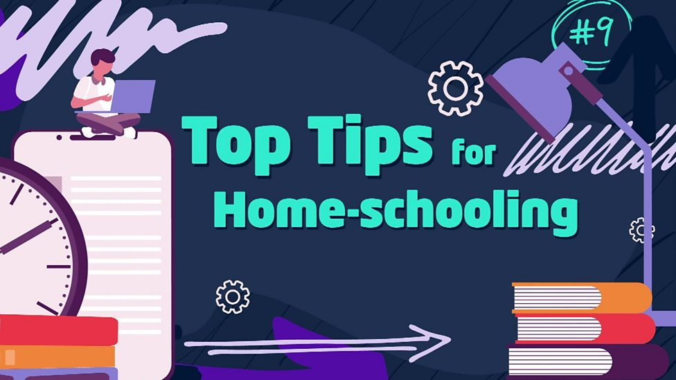 Check out these top tips for learning at home