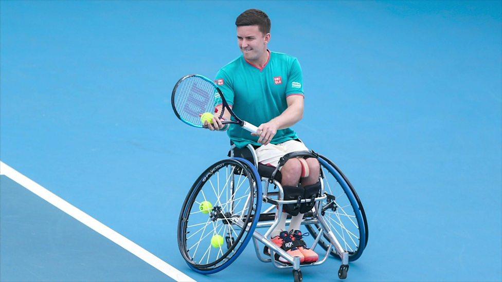 Wheelchair Tennis champion Gordon Reid talks about isolating
