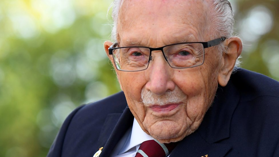Captain Sir Tom Moore's incredible achievements