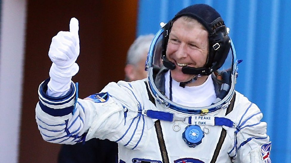 Tim Peake: How to become an astronaut