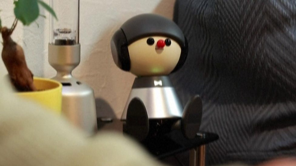 Meet the robots helping to tackle loneliness in Japan