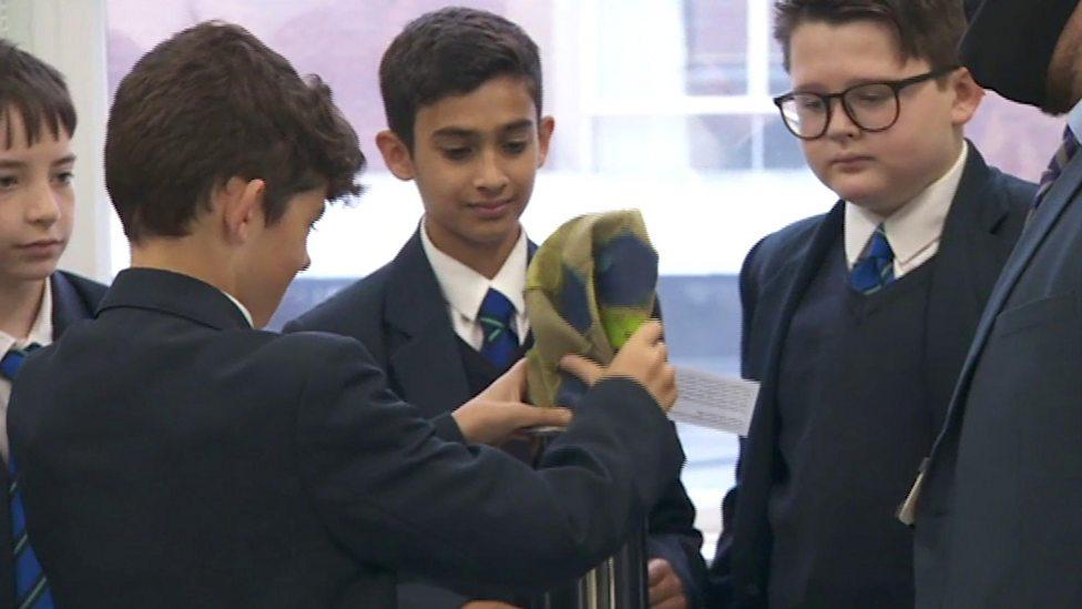 School pupils create coronavirus time capsule