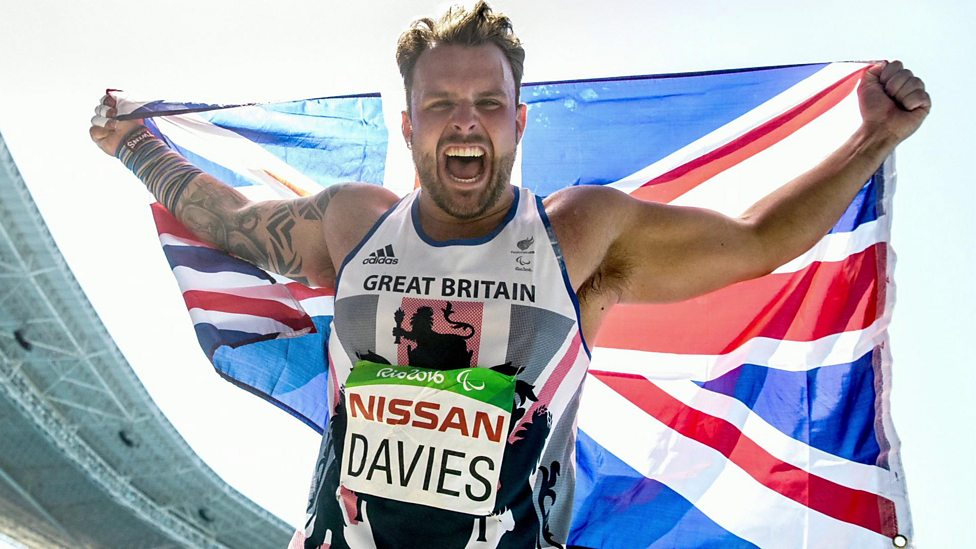 GB Paralympian Aled Davies is 'hungry for gold!'