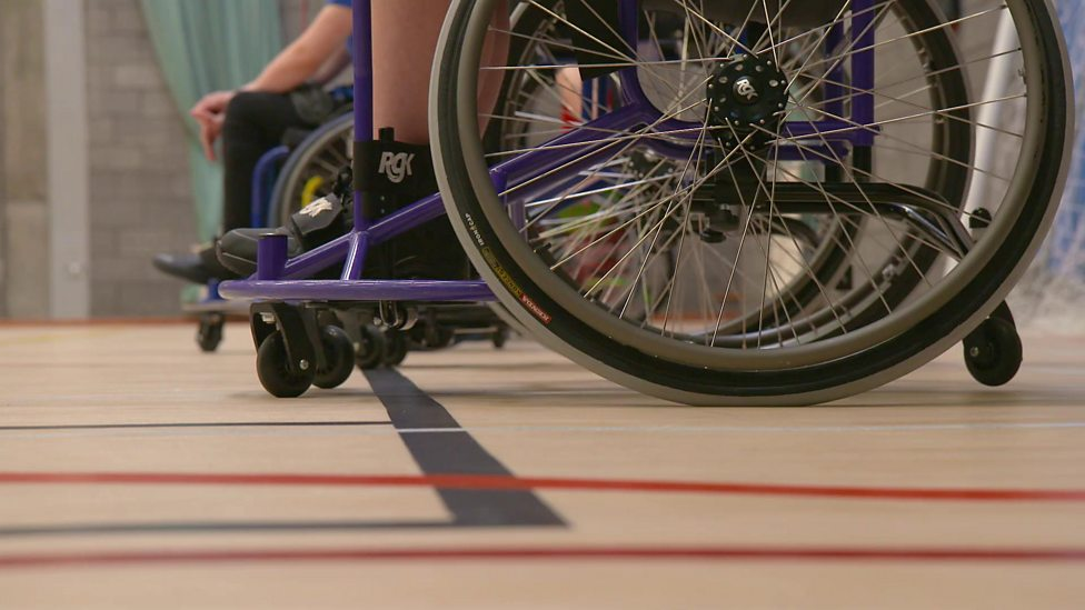 Meet the young athletes playing sport in a wheelchair