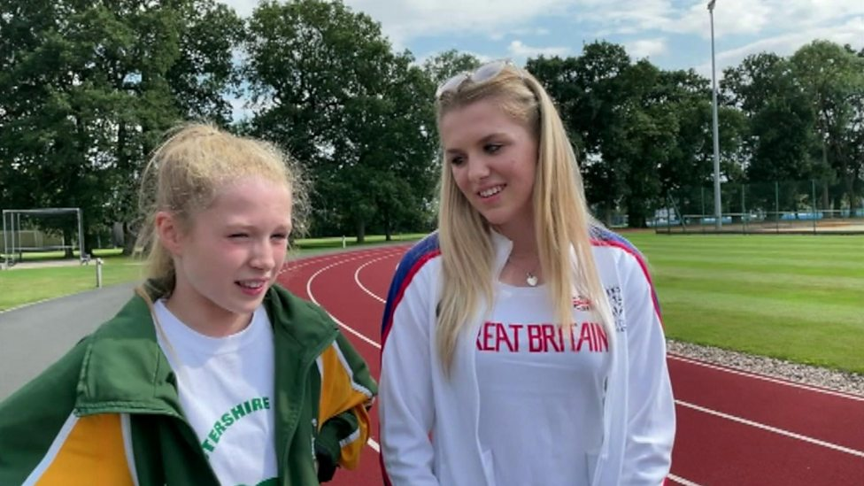 The running sisters hoping for future Olympic success