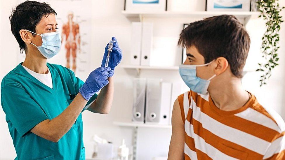 Coronavirus vaccine to be offered to children aged 12-15 in UK