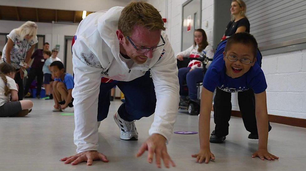 Paralympic athletes inspiring the next generation