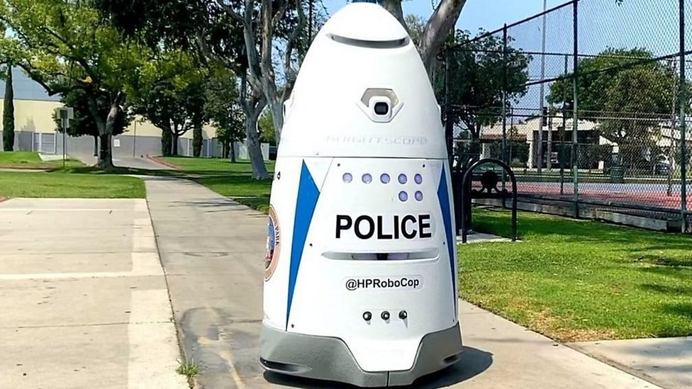 The robot crime stopper patrolling US streets