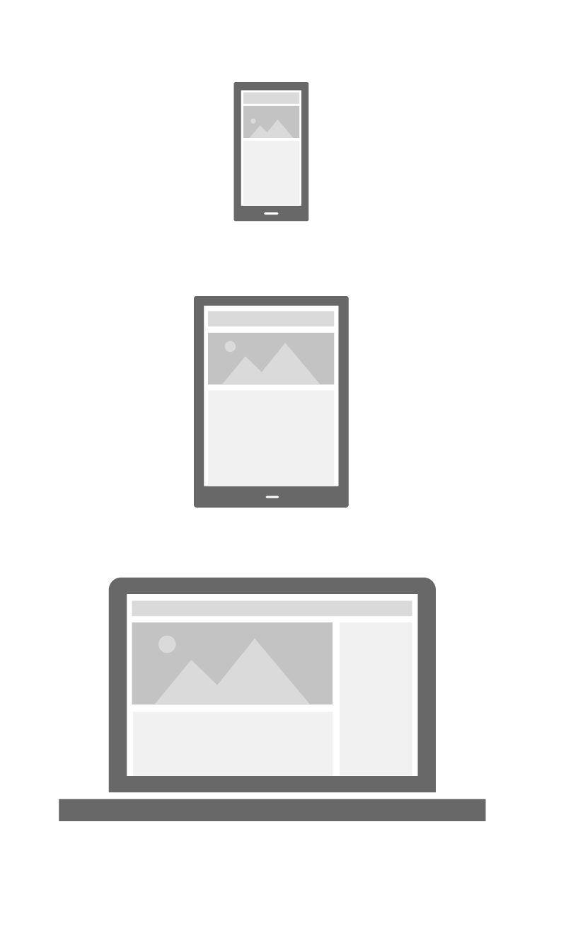 Example of testing your newsletter across devices