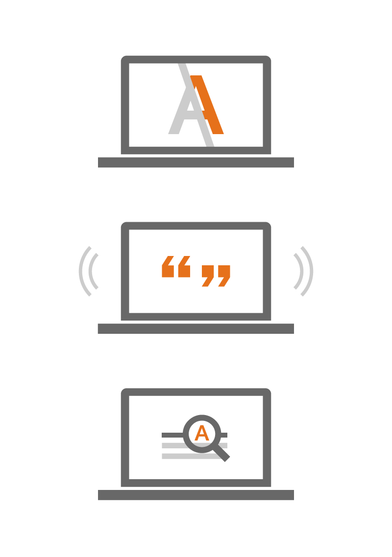 Accessible content for everyone means no impassable barriers.