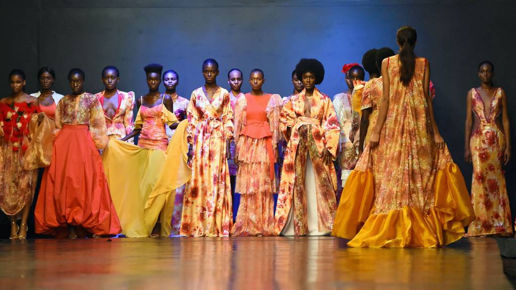Models at Lagos Fashion Week