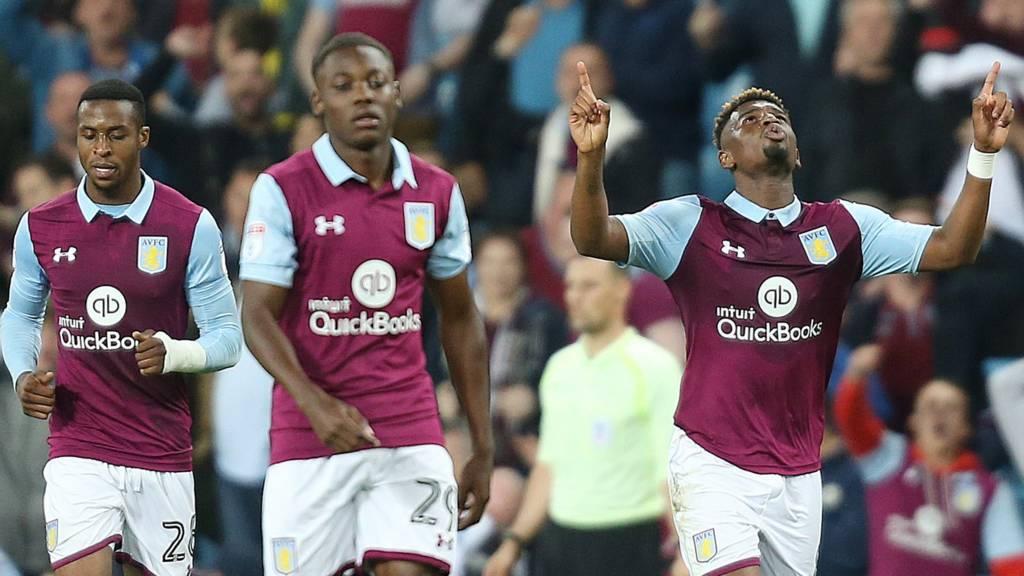 Aston Villa after goal