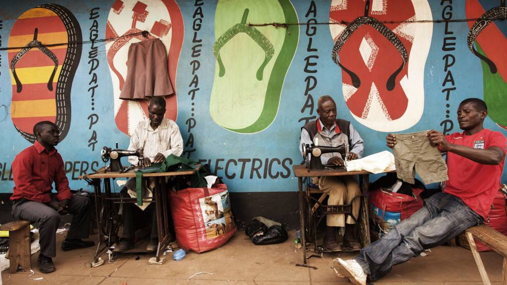 Tailors in Malawi