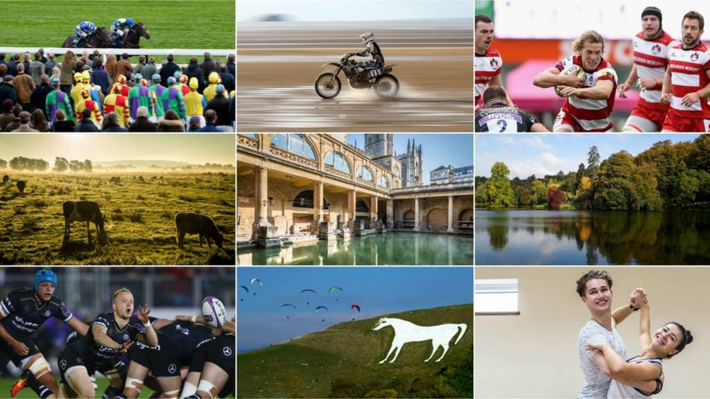 A montage of West Country images