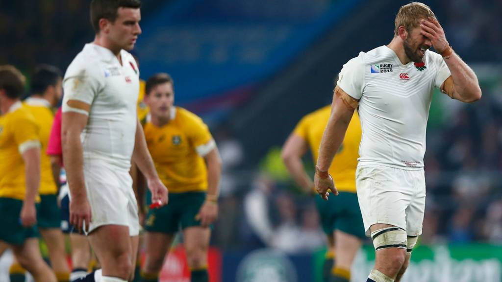 192ff40768d Rugby World Cup 2015: England out after Australia defeat - Live ...