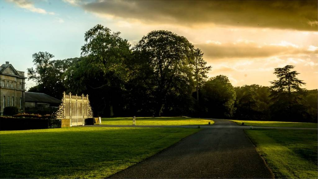 'Astonished' by the natural light and accompanied shadow of trees at Blenheim Palace.
