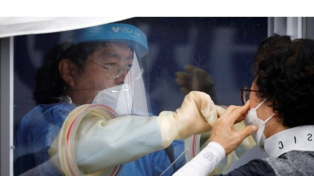 coronavirus testing in Seoul