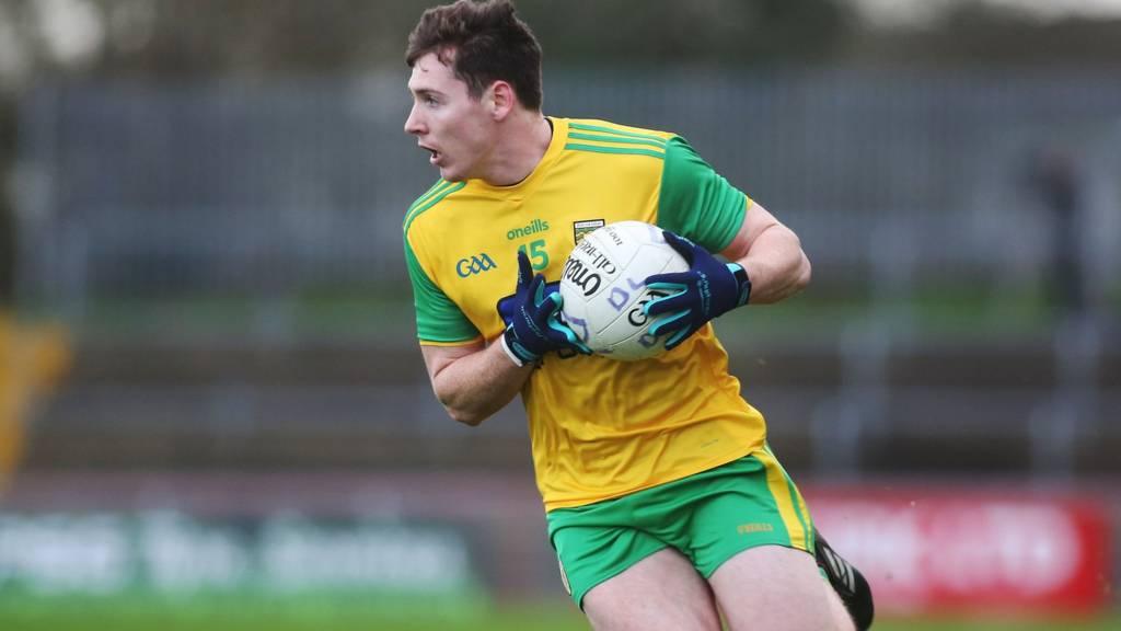 Donegal forward Jamie Brennan