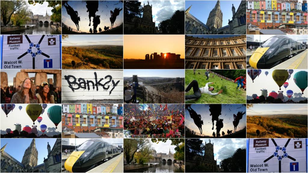 Montage of West of England images