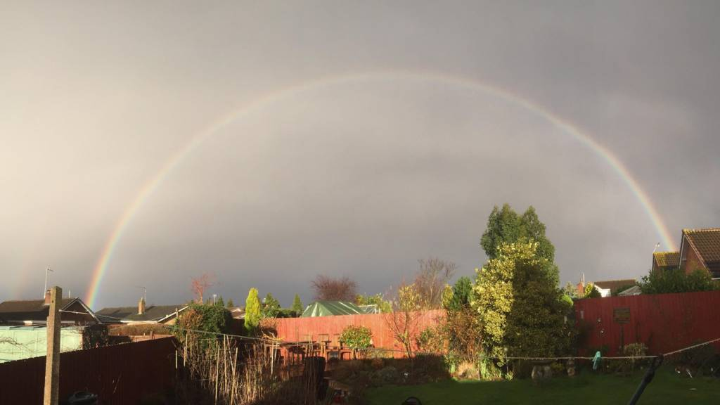 Rainbow in Glenfield