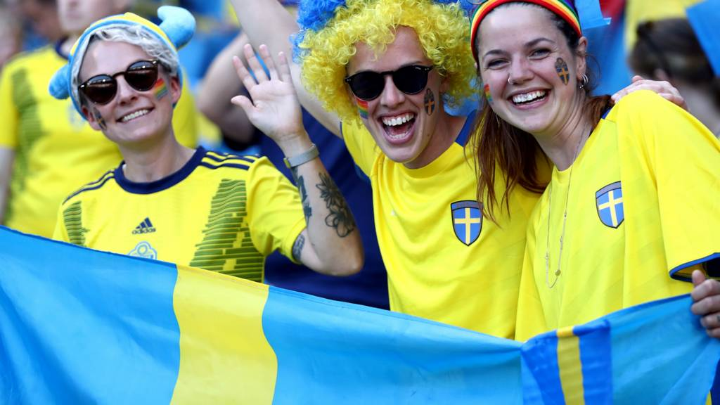 Sweden upset Germany to reach World Cup semi-final